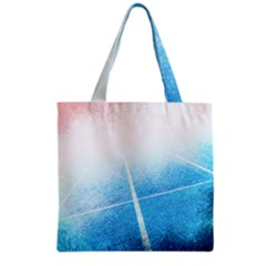 Court Sport Blue Red White Grocery Tote Bag
