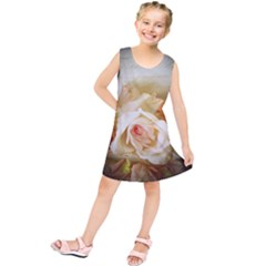 Roses Vintage Playful Romantic Kids  Tunic Dress