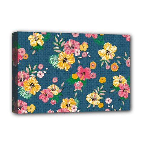 Aloha Hawaii Flower Floral Sexy Deluxe Canvas 18  X 12