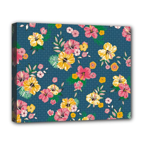 Aloha Hawaii Flower Floral Sexy Deluxe Canvas 20  X 16