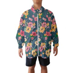 Aloha Hawaii Flower Floral Sexy Wind Breaker (kids)