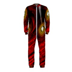 Black Red Space Hole Onepiece Jumpsuit (kids)
