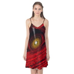 Black Red Space Hole Camis Nightgown