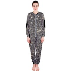 Black Hole Blue Space Galaxy Star Light Onepiece Jumpsuit (ladies)