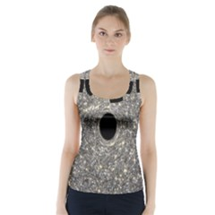 Black Hole Blue Space Galaxy Star Light Racer Back Sports Top