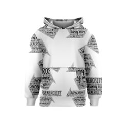 Recycling Generosity Consumption Kids  Pullover Hoodie