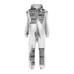 Recycling Generosity Consumption Hooded Jumpsuit (kids)