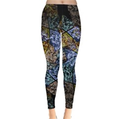 Multi Color Tile Twirl Octagon Leggings