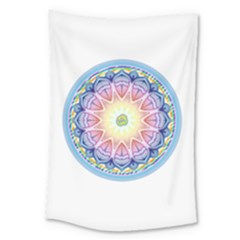 Mandala Universe Energy Om Large Tapestry