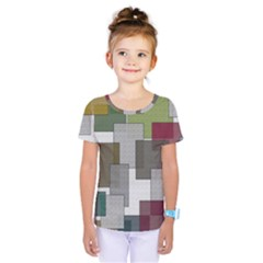 Decor Painting Design Texture Kids  One Piece Tee