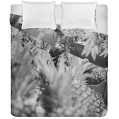 Pineapple Market Fruit Food Fresh Duvet Cover Double Side (california King Size)