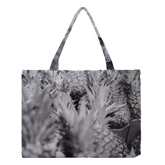 Pineapple Market Fruit Food Fresh Medium Tote Bag