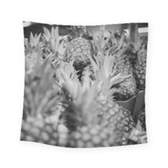 Pineapple Market Fruit Food Fresh Square Tapestry (small)