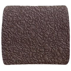 Leather Texture Brown Background Back Support Cushion