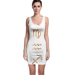 Signs Of The Zodiac Zodiac Aries Bodycon Dress
