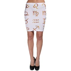 Signs Of The Zodiac Zodiac Aries Bodycon Skirt