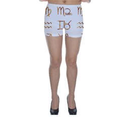 Signs Of The Zodiac Zodiac Aries Skinny Shorts