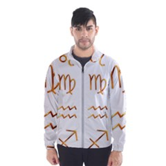 Signs Of The Zodiac Zodiac Aries Wind Breaker (men)