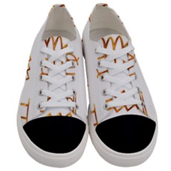 Signs Of The Zodiac Zodiac Aries Women s Low Top Canvas Sneakers