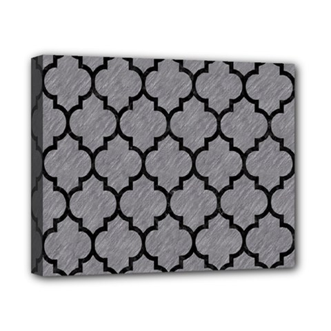 Tile1 Black Marble & Gray Colored Pencil (r) Canvas 10  X 8