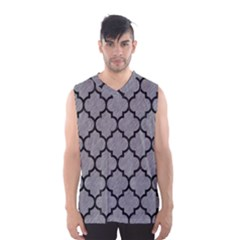 Tile1 Black Marble & Gray Colored Pencil (r) Men s Basketball Tank Top