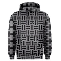 Woven1 Black Marble & Gray Colored Pencil (r) Men s Pullover Hoodie