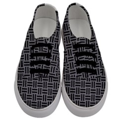 Woven1 Black Marble & Gray Colored Pencil (r) Men s Classic Low Top Sneakers