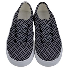 Woven2 Black Marble & Gray Colored Pencil (r) Kids  Classic Low Top Sneakers