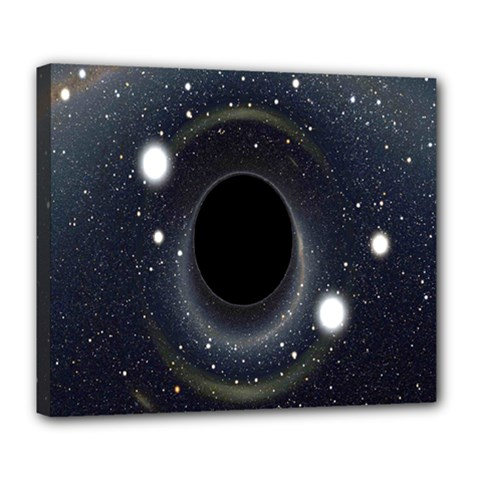 Brightest Cluster Galaxies And Supermassive Black Holes Deluxe Canvas 24  X 20