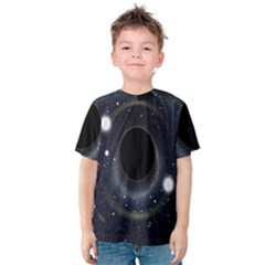 Brightest Cluster Galaxies And Supermassive Black Holes Kids  Cotton Tee