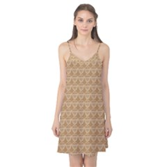 Cake Brown Sweet Camis Nightgown
