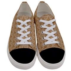 Cake Brown Sweet Women s Low Top Canvas Sneakers