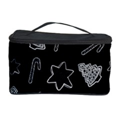 Ginger Cookies Christmas Pattern Cosmetic Storage Case