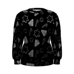 Ginger Cookies Christmas Pattern Women s Sweatshirt