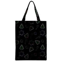 Ginger Cookies Christmas Pattern Classic Tote Bag
