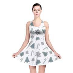 Ginger Cookies Christmas Pattern Reversible Skater Dress