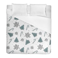 Ginger Cookies Christmas Pattern Duvet Cover (full/ Double Size)