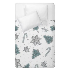 Ginger Cookies Christmas Pattern Duvet Cover Double Side (single Size)