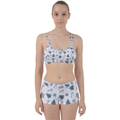 Ginger Cookies Christmas Pattern Women s Sports Set