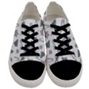 Ginger cookies Christmas pattern Men s Low Top Canvas Sneakers View1
