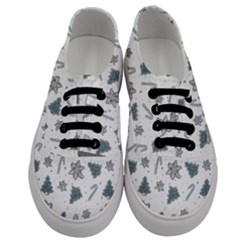 Ginger Cookies Christmas Pattern Men s Classic Low Top Sneakers