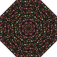 Christmas Pattern Hook Handle Umbrellas (medium)