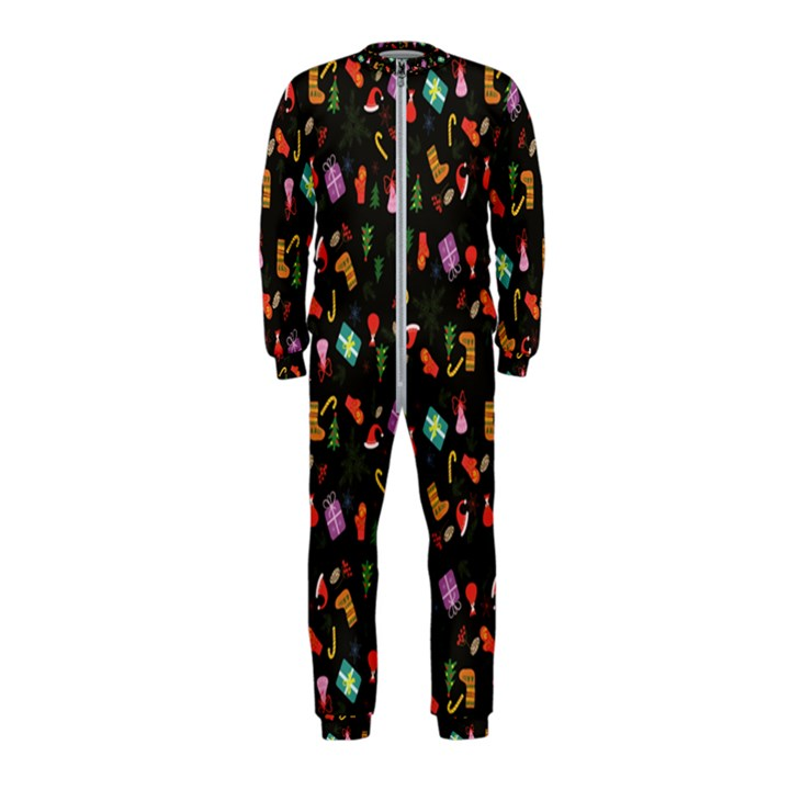 Christmas pattern OnePiece Jumpsuit (Kids)