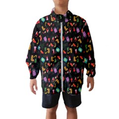 Christmas Pattern Wind Breaker (kids)