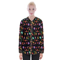 Christmas Pattern Womens Long Sleeve Shirt