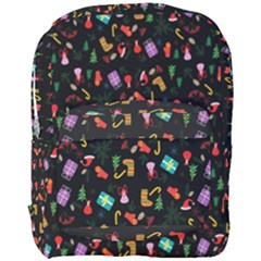 Christmas Pattern Full Print Backpack