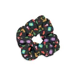 Christmas Pattern Velvet Scrunchie