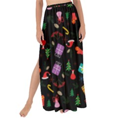 Christmas Pattern Maxi Chiffon Tie Up Sarong