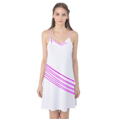 Electricty Power Pole Blue Pink Camis Nightgown