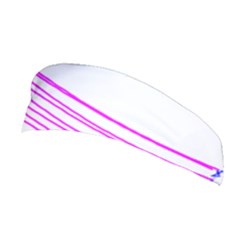 Electricty Power Pole Blue Pink Stretchable Headband